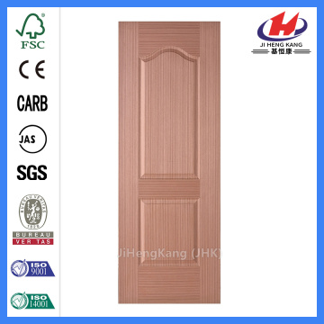 JHK-002 Engineered Sapele Veneer 2 Panel  MDF Exterior Door Skin