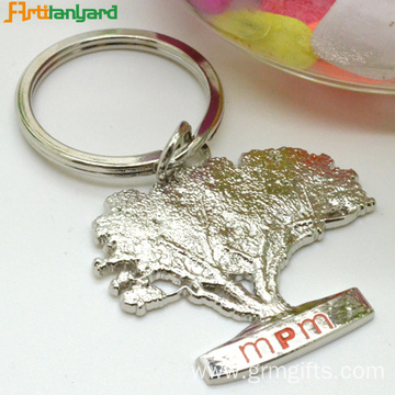 Metal Keychains Custom With Plated