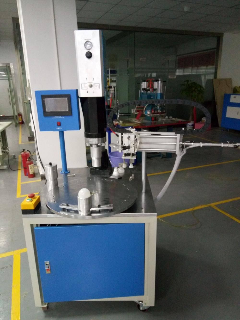 15WHz Rotary Table Automatic Ultrasonic Plastic Welder