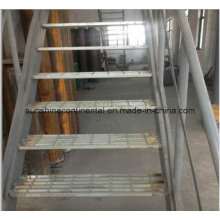 Hot Dipped Galvanized Catwalk Steel Grating Stairs