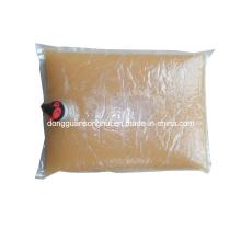 Fruchtsaft Verpackungstasche / Beutel im Kasten / Latzbeutel