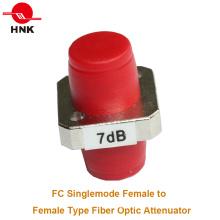 FC / PC Singlemode Type d'adaptateur femelle Type Fiber Optic Attenuator
