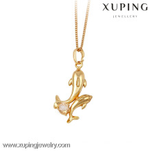 32329-Xuping Jewelry Fashion Hot Sale Brass Pendants with 18K Gold Plated