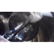 Chaleira de mistura dobro de emulsão do revestimento com agitador