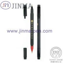 Продвижение пластик 2 в 1 шариковая ручка Жм-M025