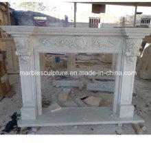 Природный камень Домашнее украшение Мраморный камин (SY-MF219)
