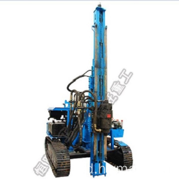 Photovoltaic Hydraulic Crawler Post Pile Driver
