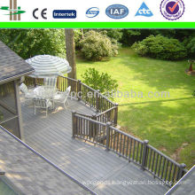 light grey wpc decking floor