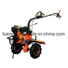 Bsd 1050 New Model Mini-Tiller, Diesel Tiller Two Wheel Tiller Mini Tiller Garden Tiller Farm Tiller Rotary Tiller Diesel Power Tiller