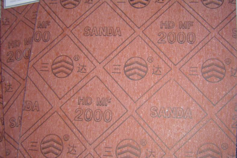Red Asbestos Rubber Jointing Sheet