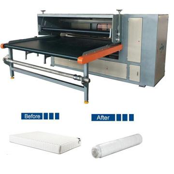 Vacuum Filling Pillow Polyester Rolling Mattress Machinery