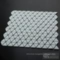 Triangle Art Glass Mosaic Floor Tiles