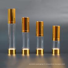Bouteille cosmétique en plastique avec pompe (NAB23)