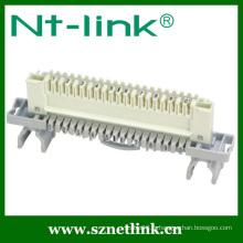 Angle droit 110 module de déconnexion de 10 paires