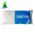 Зимняя белая искусственная снежинка елочная игрушка
