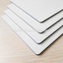El panel compuesto de aluminio priting digital brillante de los lados dobles del lustre y del blanco mate / los lados dobles color ACP cubre