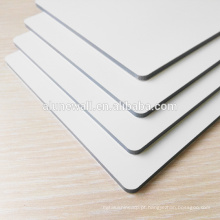 Gloss & matt double sides white advertising digital priting aluminum composite panel/ double sides color ACP sheets