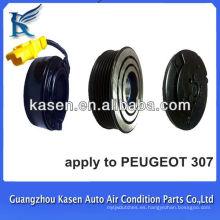 Para peugeot307 6pk ATC embrague magnético eléctrico