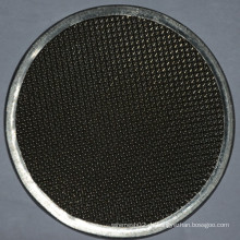 Black Iron Wire Mesh
