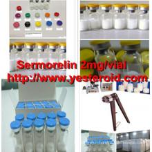 Sermorelin / Sermorelin acétate 2mg / fiole de peptide anti-vieillissement