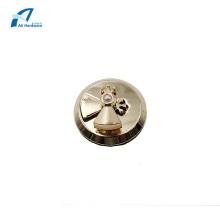 Rotary Lock Hardware Parts with Pearls Handbag Lock