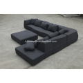 BEB italiano grand bend-sofa in tessuto