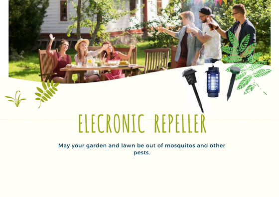 Electronic Solarsonic Pest Control Repeller