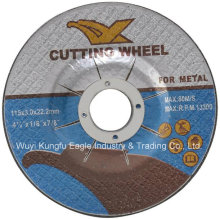 MPa En12413 Resin Bonded Abrasive Cutting Grinding Wheel