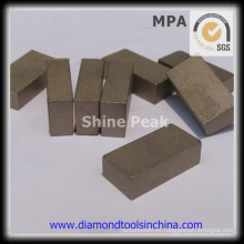 Segmento de diamante para corte de piedra