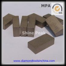 Алмазный сегмент для резки камня