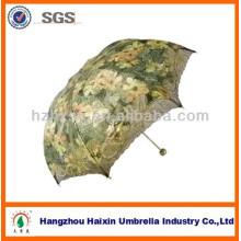 Encantador 3 paraguas plegable de señora
