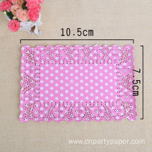New Design And Food Safety Square Paper Doilies