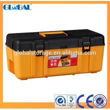 Caixa de ferramentas de hardware impermeável de plástico multi-função de venda quente