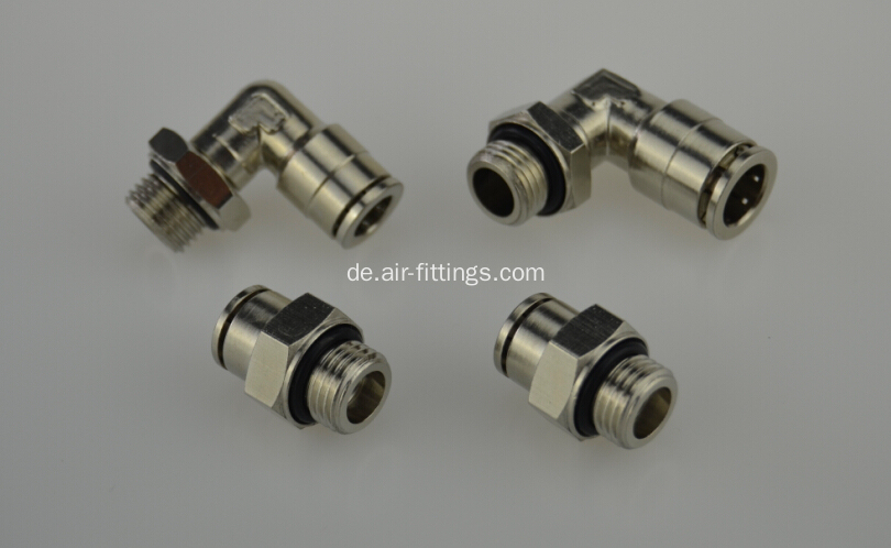 Air-Fluid Male Swivel Elbow - Male Thread BSPT