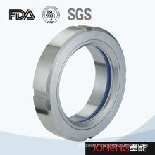 Verre hygiénique de type union d'acier inoxydable (JN-SG2002)