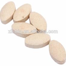 suplementos nutricionales tabletas Ca + Fe + Se + Zn