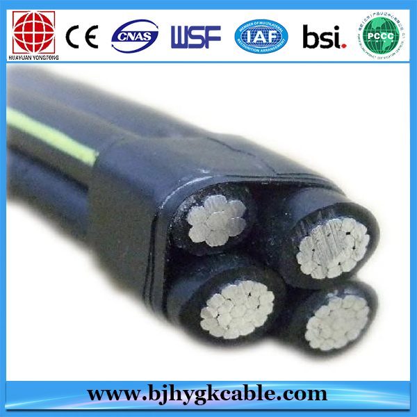 3+1 CORE XLPE INSULATED ABC CABLE