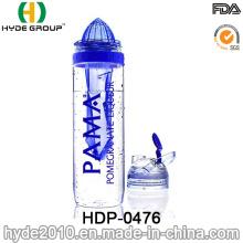 Botella de infusión de fruta recién liberada BPA de plástico 32oz, botella de agua Tritan portátil (HDP-0476)