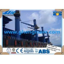 Grúa de cubierta eléctrica para barcos