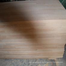 Panel de junta de dedo de haya cocido al vapor (encimeras)