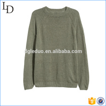 Top design quality sweater factory 100% cotton mens sweater