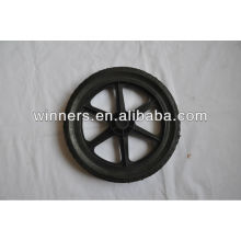 "solid rubber wheel/tool cart wheel 10""/12"""