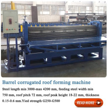 Galvanized Thin Board Transverse Corrugated Roll Forming Machine