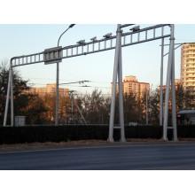 Postes de acero de la barra de control del poste del monitor de tráfico