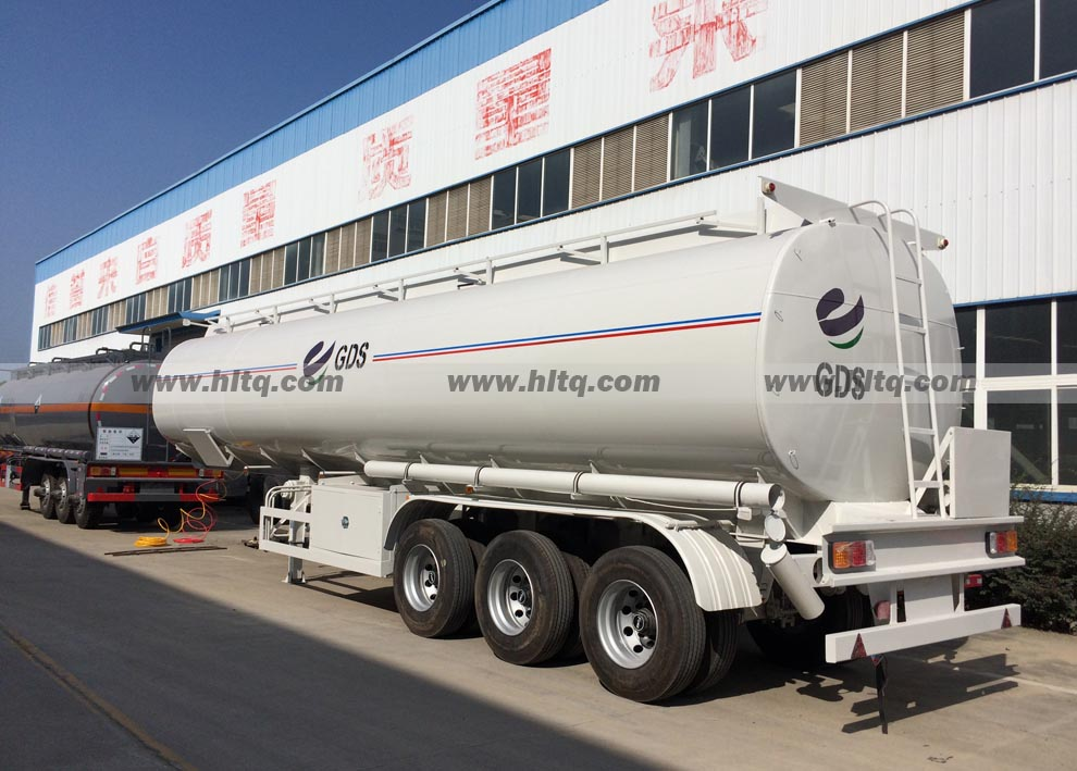 3 axle oil tank semi trailer