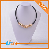 New Arrival hot selling Golden designs necklace for women