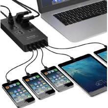 ORICO HPC-6A5U 6 Outlet 5-Port USB Surge Protector
