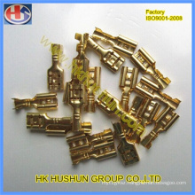 Brass Plated Tin Female Spade 6.3mm Terminals (HS-RT-04)