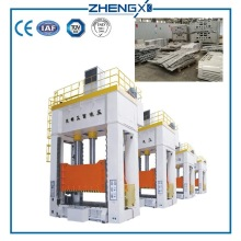 Multi Layer Carbon Fabric Composite Hydraulic Hot Press