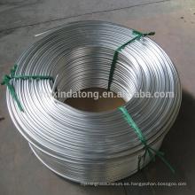 Bobina de tubo de aluminio